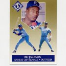 1991 Ultra Gold Baseball #06 Bo Jackson - Kansas City Royals