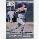 1991 Ultra Baseball #341 Tino Martinez - Seattle Mariners