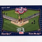 2007 Topps Baseball Opening Day Team vs. Team #OD05 Toronto Blue Jays / Detroit Tigers
