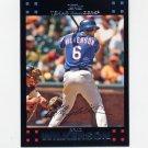 2007 Topps Baseball Red Back #589 Brad Wilkerson - Texas Rangers