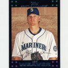 2007 Topps Baseball Red Back #420 Jeff Weaver - Seattle Mariners
