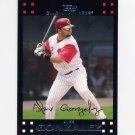 2007 Topps Baseball Red Back #384 Alex Gonzalez - Cincinnati Reds