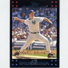 2007 Topps Baseball #452 Mike Mussina - New York Yankees