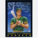1991 Fleer Baseball Pro-Visions #06 Jose Canseco - Oakland A's