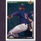 1992 Upper Deck Baseball #776 Pat Mahomes RC - Minnesota Twins