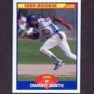 1989 Score Baseball #642 Dwight Smith RC - Chicago Cubs