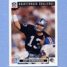 1991 Domino's Quarterbacks Football #14 Jay Schroeder - Los Angeles Raiders