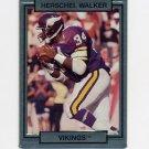 1990 Action Packed Football #158 Herschel Walker - Minnesota Vikings