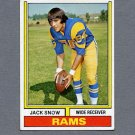 1974 Topps Football #083 Jack Snow - Los Angeles Rams Ex