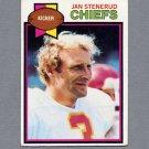 1979 Topps Football #142 Jan Stenerud - Kansas City Chiefs Vg