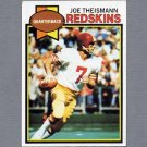 1979 Topps Football #155 Joe Theismann - Washington Redskins ExMt