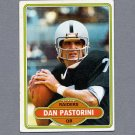 1980 Topps Football #490 Dan Pastorini - Oakland Raiders