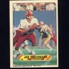 1983 Topps Sticker Inserts Football #29 Joe Theismann - Washington Redskins