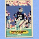 1983 Topps Sticker Inserts Football #28 Lawrence Taylor - New York Giants