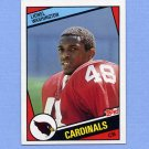 1984 Topps Football #348 Lionel Washington RC - St. Louis Cardinals