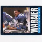 1985 Topps Football #392 Curt Warner - Seattle Seahawks