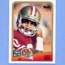 1988 Topps Football #043 Jerry Rice - San Francisco 49ers