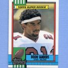 1990 Topps Football #469 Deion Sanders - Atlanta Falcons