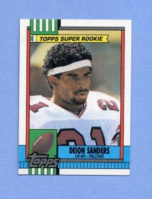 1990 Topps Football 469 Deion Sanders Atlanta Falcons