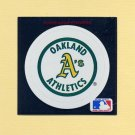 1991 Ultra Baseball Team Logo Stickers Oakland A's
