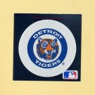 1991 Ultra Baseball Team Logo Stickers Detroit Tigers