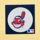 1991 Ultra Baseball Team Logo Stickers Cleveland Indians