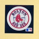 1991 Ultra Baseball Team Logo Stickers Boston Red Sox