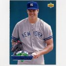 1993 Upper Deck Baseball On Deck #D01 Jim Abbott - New York Yankees