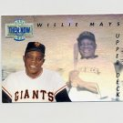 1993 Upper Deck Baseball Then And Now #TN18 Willie Mays - New York Giants