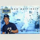 1993 Upper Deck Baseball Then And Now #TN13 Don Mattingly - New York Yankees