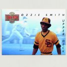 1993 Upper Deck Baseball Then And Now #TN07 Ozzie Smith - St. Louis Cardinals
