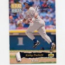 1993 Upper Deck Baseball Future Heroes #61 Kirby Puckett - Minnesota Twins
