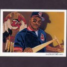 1993 Upper Deck Baseball #823 Cleveland Indians Team Checklist / Albert Belle
