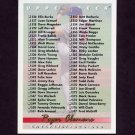 1993 Upper Deck Baseball #630 Roger Clemens / Checklist 526-630