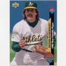 1993 Upper Deck Baseball #487 Dennis Eckersley AW - Oakland A's