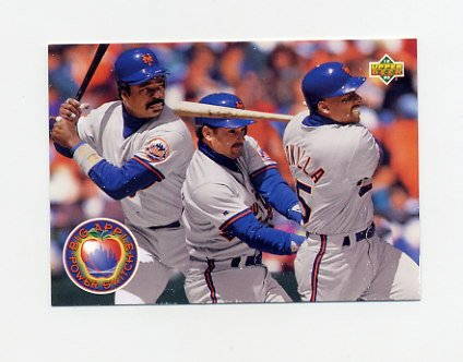 1993 Upper Deck Baseball #484 Big Apple Power Switch Eddie Murray - New York Mets