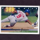1993 Upper Deck Baseball #356 Marquis Grissom - Montreal Expos