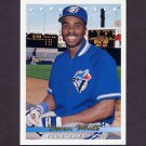 1993 Upper Deck Baseball #346 Devon White - Toronto Blue Jays