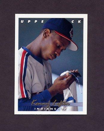 1993 Upper Deck Baseball #262 Kenny Lofton - Cleveland Indians