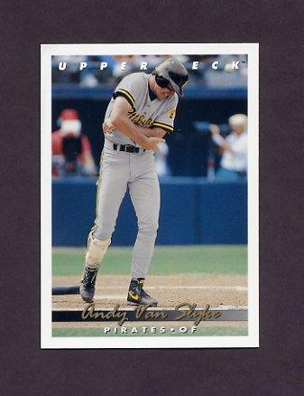 1993 Upper Deck Baseball #124 Andy Van Slyke - Pittsburgh Pirates