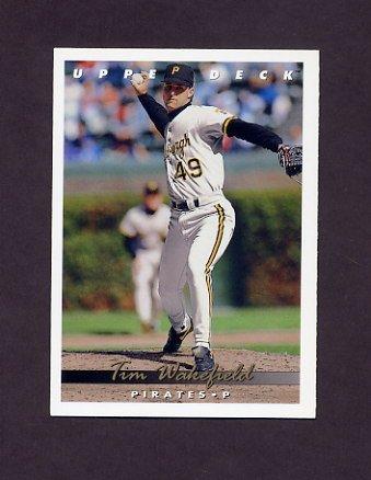 1993 Upper Deck Baseball #066 Tim Wakefield - Pittsburgh Pirates