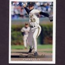 1993 Upper Deck Baseball #066 Tim Wakefield - Pittsburgh Pirates
