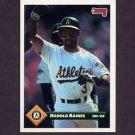 1993 Donruss Baseball #725 Harold Baines - Oakland A's