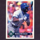 1993 Donruss Baseball #639 Harold Reynolds - Seattle Mariners