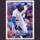 1993 Donruss Baseball #632 Andre Dawson - Chicago Cubs