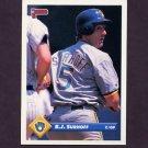 1993 Donruss Baseball #545 B.J. Surhoff - Milwaukee Brewers