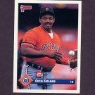 1993 Donruss Baseball #541 Cecil Fielder - Detroit Tigers