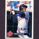 1993 Donruss Baseball #537 Kenny Lofton - Cleveland Indians