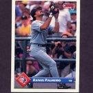 1993 Donruss Baseball #365 Rafael Palmeiro - Texas Rangers