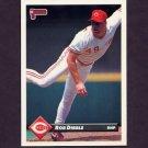1993 Donruss Baseball #322 Rob Dibble - Cincinnati Reds